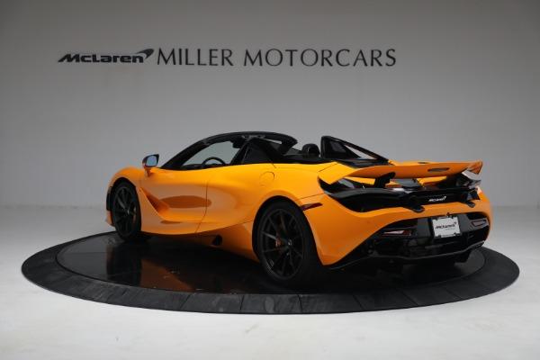 New 2021 McLaren 720S Spider for sale $378,110 at Alfa Romeo of Westport in Westport CT 06880 5