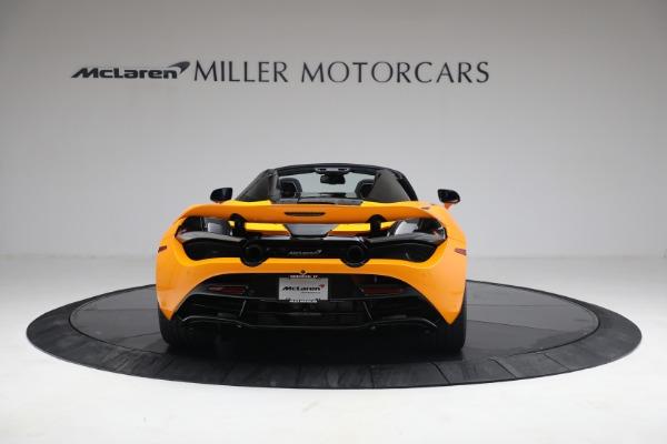 New 2021 McLaren 720S Spider for sale $378,110 at Alfa Romeo of Westport in Westport CT 06880 6