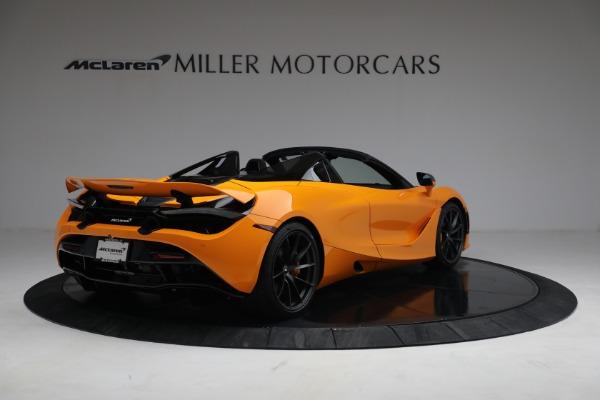 New 2021 McLaren 720S Spider for sale $378,110 at Alfa Romeo of Westport in Westport CT 06880 7