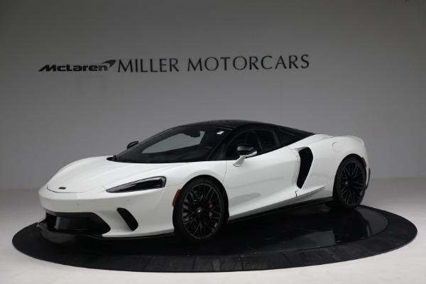 New 2021 McLaren GT Luxe for sale $217,205 at Alfa Romeo of Westport in Westport CT 06880 1