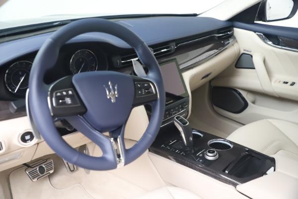 New 2021 Maserati Quattroporte S Q4 GranLusso for sale $126,149 at Alfa Romeo of Westport in Westport CT 06880 13