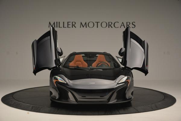 Used 2015 McLaren 650S Spider for sale Sold at Alfa Romeo of Westport in Westport CT 06880 12