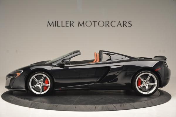 Used 2015 McLaren 650S Spider for sale Sold at Alfa Romeo of Westport in Westport CT 06880 3