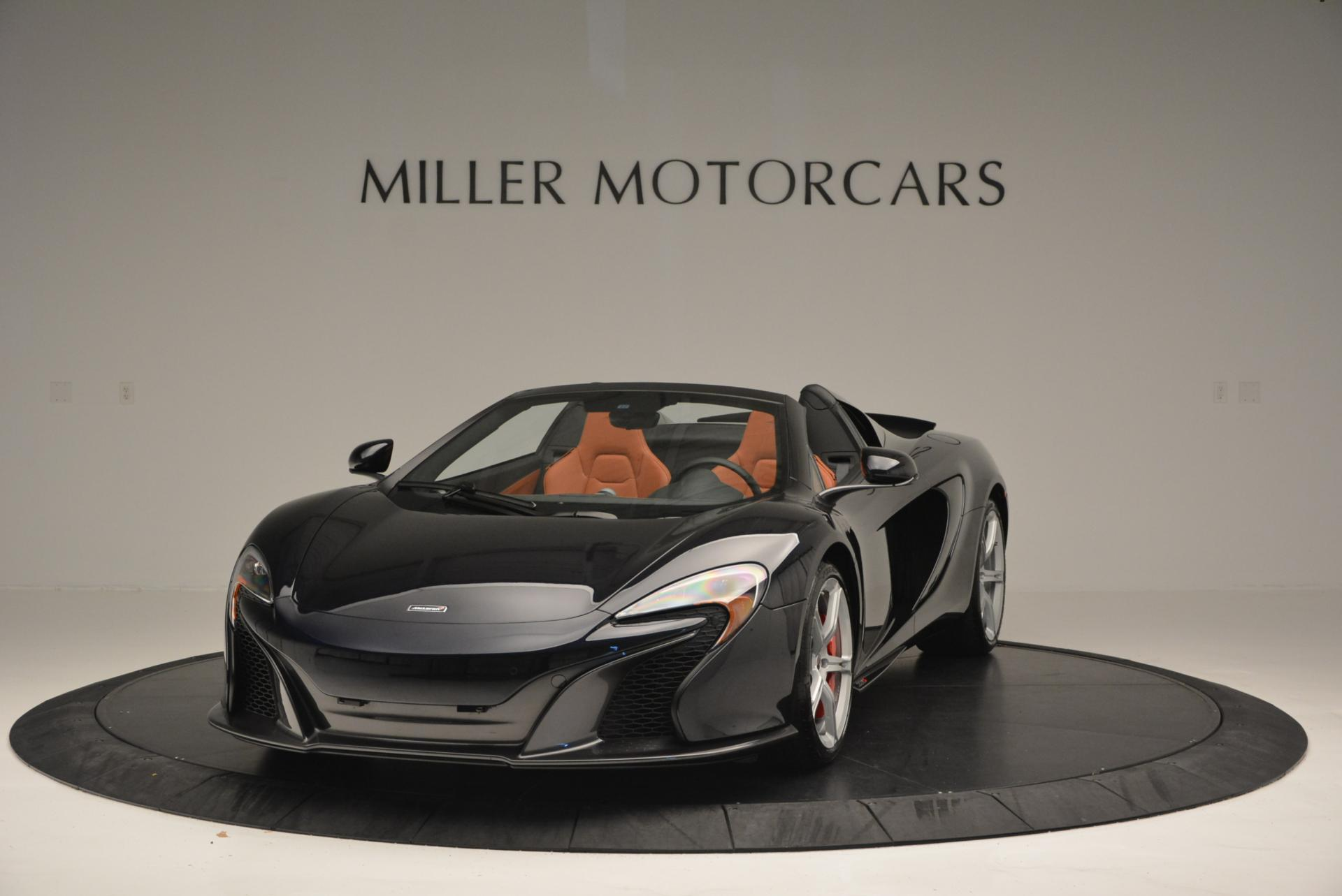 Used 2015 McLaren 650S Spider for sale Sold at Alfa Romeo of Westport in Westport CT 06880 1