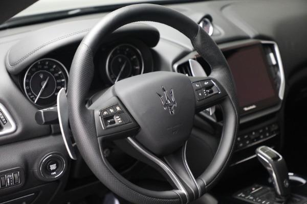 New 2021 Maserati Ghibli SQ4 for sale $92,894 at Alfa Romeo of Westport in Westport CT 06880 17