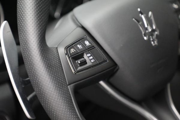 New 2021 Maserati Ghibli SQ4 for sale $92,894 at Alfa Romeo of Westport in Westport CT 06880 18