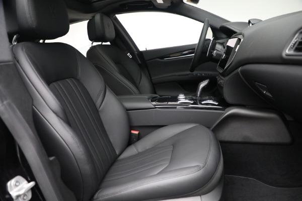 New 2021 Maserati Ghibli SQ4 for sale $92,894 at Alfa Romeo of Westport in Westport CT 06880 26