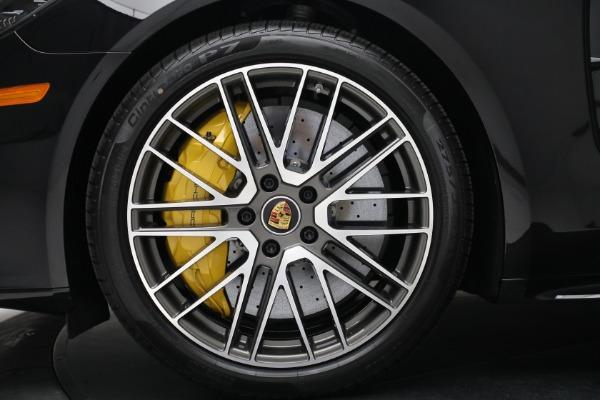 Used 2021 Porsche Panamera Turbo S for sale Call for price at Alfa Romeo of Westport in Westport CT 06880 15