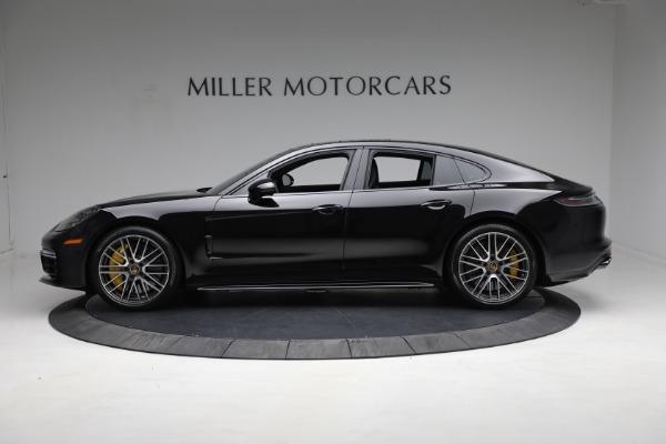 Used 2021 Porsche Panamera Turbo S for sale Call for price at Alfa Romeo of Westport in Westport CT 06880 2