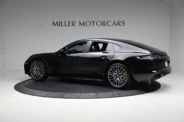 Used 2021 Porsche Panamera Turbo S for sale Call for price at Alfa Romeo of Westport in Westport CT 06880 3