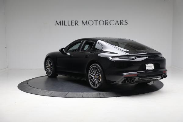 Used 2021 Porsche Panamera Turbo S for sale Call for price at Alfa Romeo of Westport in Westport CT 06880 4