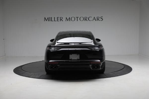Used 2021 Porsche Panamera Turbo S for sale Call for price at Alfa Romeo of Westport in Westport CT 06880 5