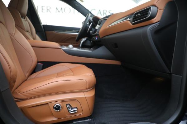 New 2021 Maserati Levante S GranSport for sale $112,799 at Alfa Romeo of Westport in Westport CT 06880 22