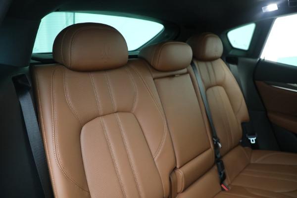 New 2021 Maserati Levante S GranSport for sale $112,799 at Alfa Romeo of Westport in Westport CT 06880 24