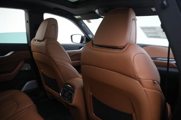 New 2021 Maserati Levante S GranSport for sale $112,799 at Alfa Romeo of Westport in Westport CT 06880 26