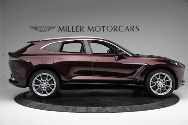 New 2021 Aston Martin DBX for sale $196,386 at Alfa Romeo of Westport in Westport CT 06880 8