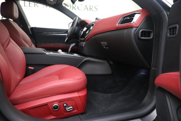 New 2021 Maserati Ghibli SQ4 GranLusso for sale Sold at Alfa Romeo of Westport in Westport CT 06880 22