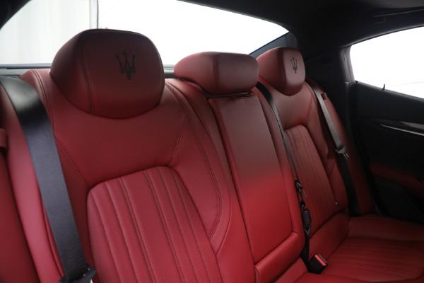 New 2021 Maserati Ghibli SQ4 GranLusso for sale Sold at Alfa Romeo of Westport in Westport CT 06880 24
