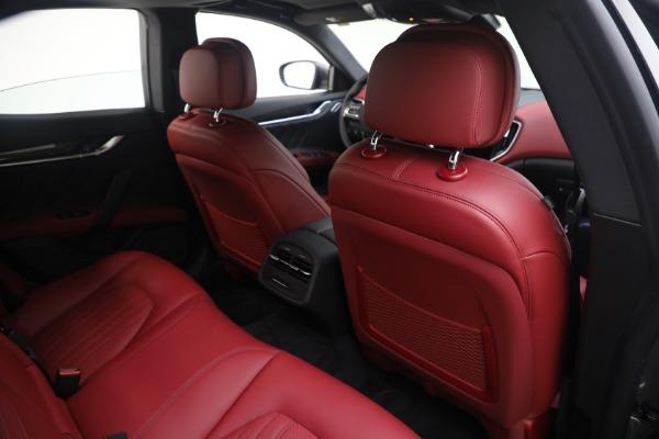 New 2021 Maserati Ghibli SQ4 GranLusso for sale Sold at Alfa Romeo of Westport in Westport CT 06880 26