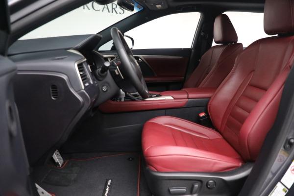Used 2018 Lexus RX 350 F SPORT for sale $46,500 at Alfa Romeo of Westport in Westport CT 06880 14