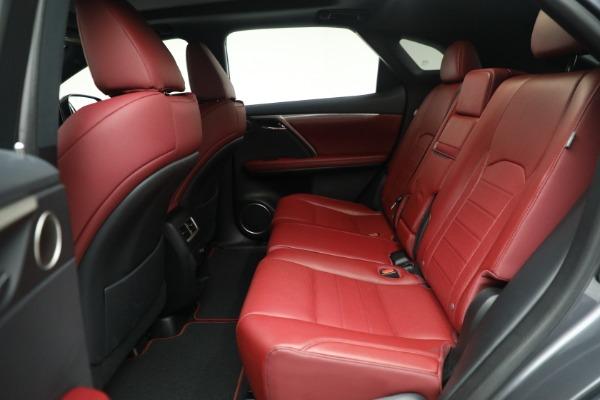 Used 2018 Lexus RX 350 F SPORT for sale $46,500 at Alfa Romeo of Westport in Westport CT 06880 17