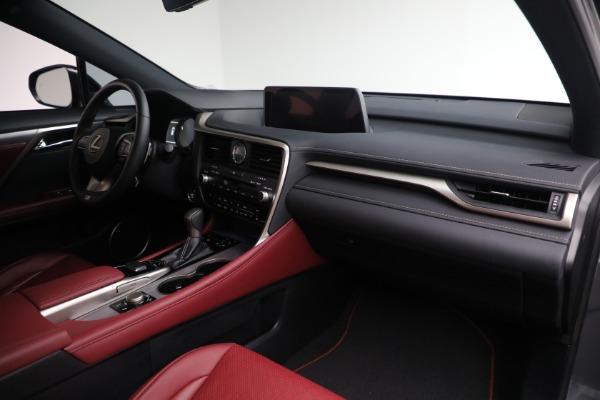 Used 2018 Lexus RX 350 F SPORT for sale $46,500 at Alfa Romeo of Westport in Westport CT 06880 18