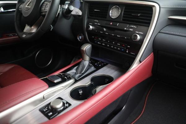 Used 2018 Lexus RX 350 F SPORT for sale $46,500 at Alfa Romeo of Westport in Westport CT 06880 21