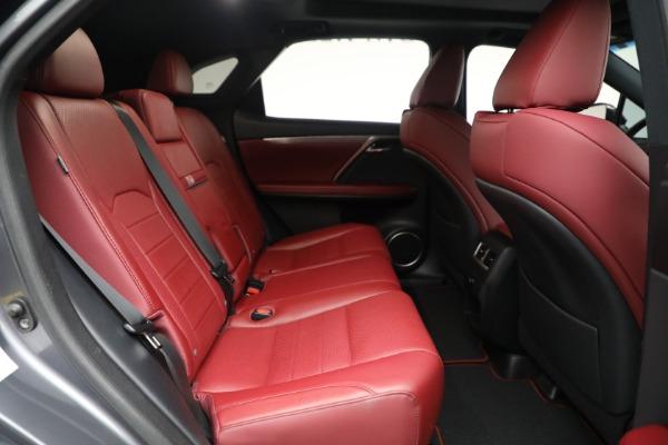 Used 2018 Lexus RX 350 F SPORT for sale $46,500 at Alfa Romeo of Westport in Westport CT 06880 22