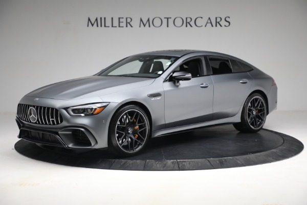 Used 2019 Mercedes-Benz AMG GT 63 for sale Call for price at Alfa Romeo of Westport in Westport CT 06880 2