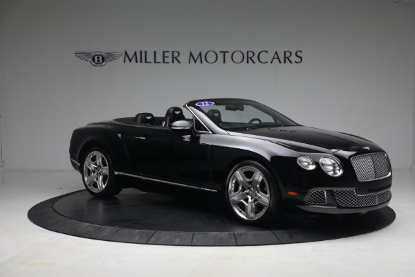 Used 2012 Bentley Continental GTC GT for sale $119,900 at Alfa Romeo of Westport in Westport CT 06880 10