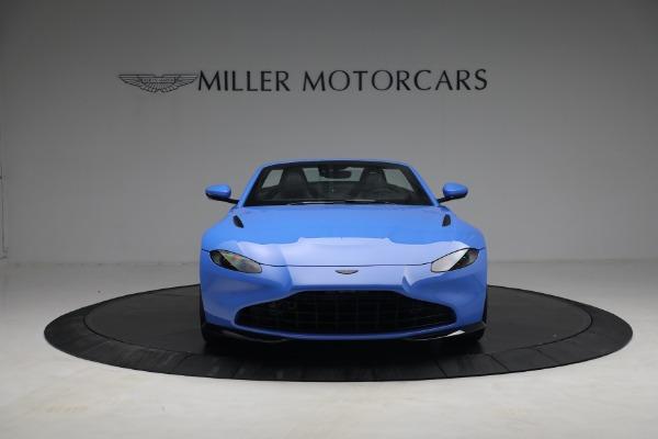 New 2021 Aston Martin Vantage Roadster for sale $186,386 at Alfa Romeo of Westport in Westport CT 06880 10