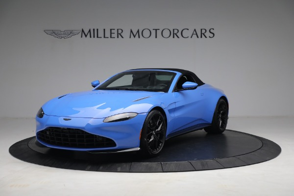 New 2021 Aston Martin Vantage Roadster for sale $186,386 at Alfa Romeo of Westport in Westport CT 06880 12