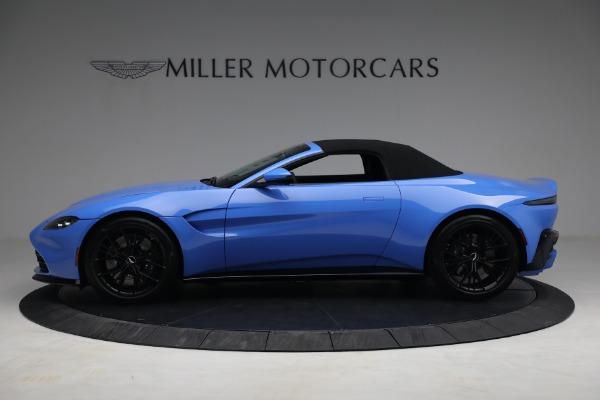 New 2021 Aston Martin Vantage Roadster for sale $186,386 at Alfa Romeo of Westport in Westport CT 06880 13