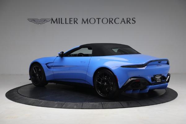 New 2021 Aston Martin Vantage Roadster for sale $186,386 at Alfa Romeo of Westport in Westport CT 06880 14