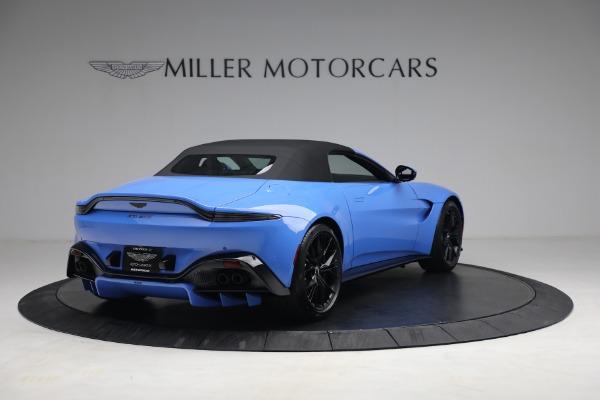 New 2021 Aston Martin Vantage Roadster for sale $186,386 at Alfa Romeo of Westport in Westport CT 06880 15