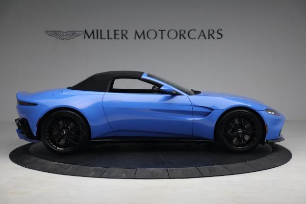 New 2021 Aston Martin Vantage Roadster for sale $186,386 at Alfa Romeo of Westport in Westport CT 06880 16