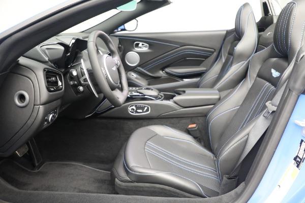New 2021 Aston Martin Vantage Roadster for sale $186,386 at Alfa Romeo of Westport in Westport CT 06880 18