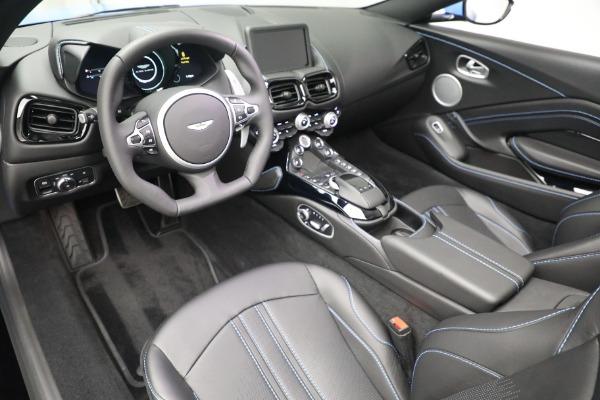 New 2021 Aston Martin Vantage Roadster for sale $186,386 at Alfa Romeo of Westport in Westport CT 06880 19