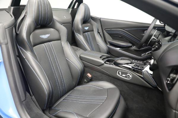 New 2021 Aston Martin Vantage Roadster for sale $186,386 at Alfa Romeo of Westport in Westport CT 06880 22