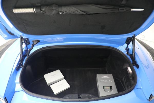 New 2021 Aston Martin Vantage Roadster for sale $186,386 at Alfa Romeo of Westport in Westport CT 06880 25