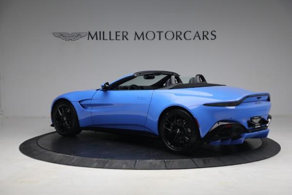 New 2021 Aston Martin Vantage Roadster for sale $186,386 at Alfa Romeo of Westport in Westport CT 06880 3