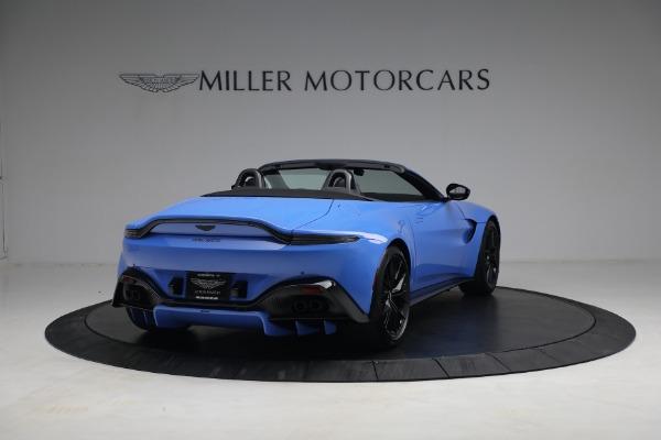 New 2021 Aston Martin Vantage Roadster for sale $186,386 at Alfa Romeo of Westport in Westport CT 06880 5