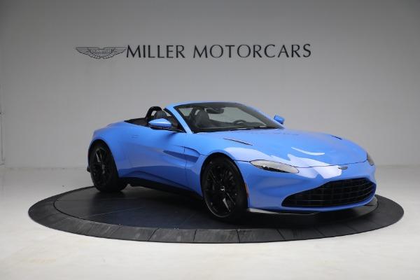 New 2021 Aston Martin Vantage Roadster for sale $186,386 at Alfa Romeo of Westport in Westport CT 06880 9