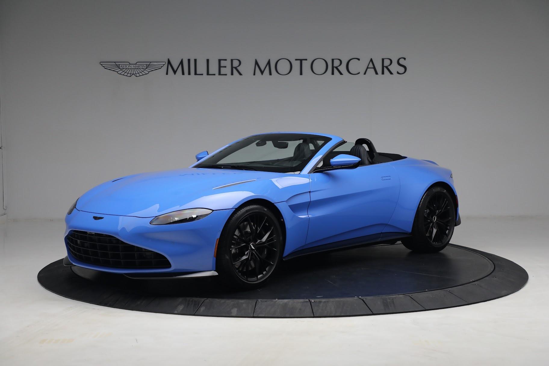New 2021 Aston Martin Vantage Roadster for sale $186,386 at Alfa Romeo of Westport in Westport CT 06880 1