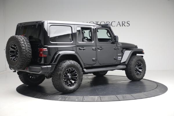 Used 2020 Jeep Wrangler Unlimited Sahara for sale Sold at Alfa Romeo of Westport in Westport CT 06880 10