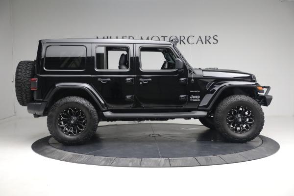 Used 2020 Jeep Wrangler Unlimited Sahara for sale Sold at Alfa Romeo of Westport in Westport CT 06880 11