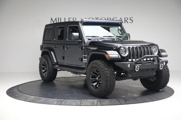 Used 2020 Jeep Wrangler Unlimited Sahara for sale Sold at Alfa Romeo of Westport in Westport CT 06880 13