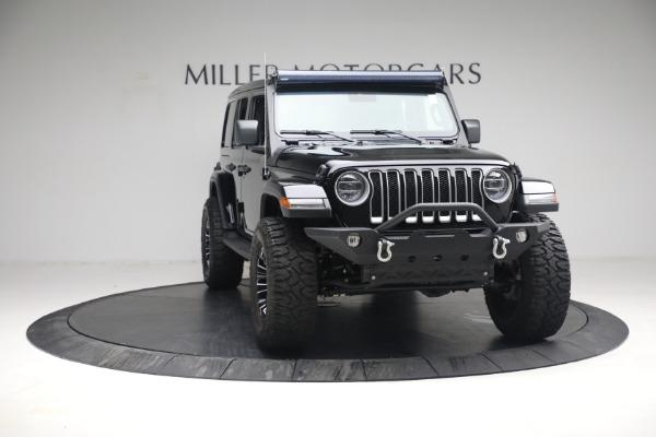 Used 2020 Jeep Wrangler Unlimited Sahara for sale Sold at Alfa Romeo of Westport in Westport CT 06880 14