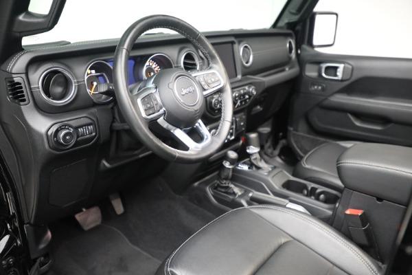 Used 2020 Jeep Wrangler Unlimited Sahara for sale Sold at Alfa Romeo of Westport in Westport CT 06880 19