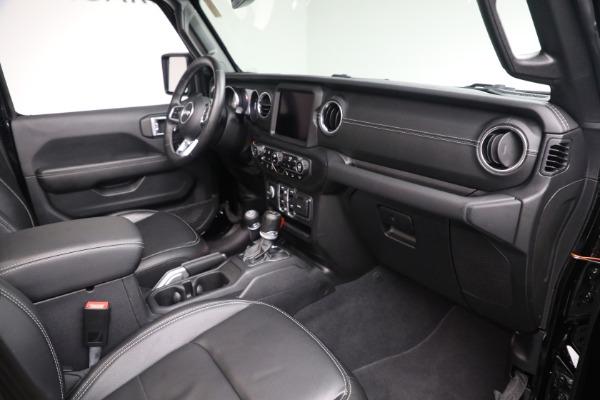 Used 2020 Jeep Wrangler Unlimited Sahara for sale Sold at Alfa Romeo of Westport in Westport CT 06880 20